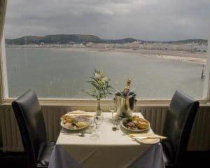 Llandudno grand hotel beach view